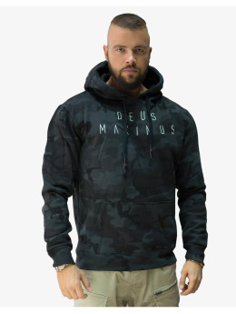Deus Maximus Hoody Phantom Strike zwart