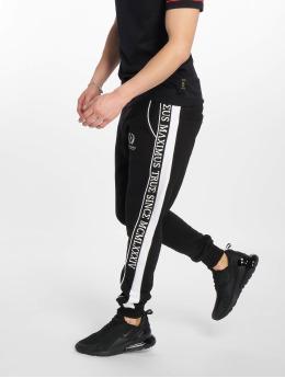 Deus Maximus Jogging kalhoty Crius čern
