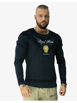 Deus Maximus Longsleeves Royal Family  čern