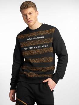Deus Maximus Pullover Louis II schwarz