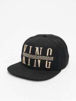 Deus Maximus Snapback Caps King  musta