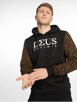 Deus Maximus Sweat capuche Louisblanche noir