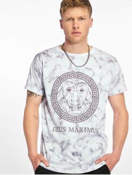Deus Maximus T-Shirt Sancus weiß