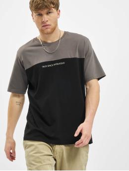 Deus Maximus T-Shirty Tanatos  czarny
