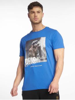 Deus Maximus T-Shirty Vecchio  niebieski
