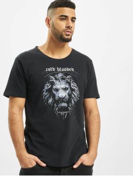 Deus Maximus T-skjorter Cold Blooded svart