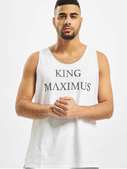 Deus Maximus Tank Tops King  white