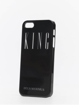Deus Maximus Telefoonhoesje King iPhone  zwart