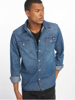 Dickies Camisa Willard  azul