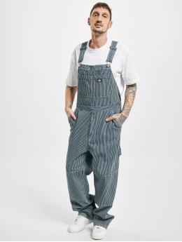 Dickies Kalhoty s laclem Ekwok Bib modrý