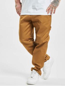 Dickies Látkové kalhoty Fairdale Twill hnědý