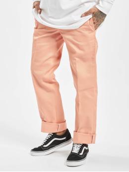 Dickies Látkové kalhoty WP873 Slim růžový