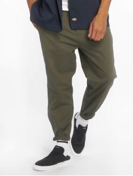 Dickies Látkové kalhoty Smithtown zelený