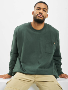 Dickies Longsleeve Pocket groen