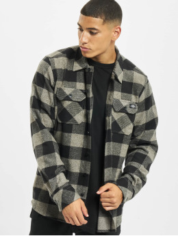 Dickies overhemd Sacramento Relaxed Long Sleeve  grijs