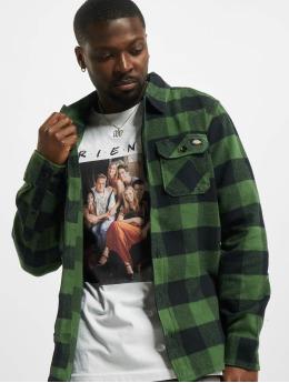 Dickies overhemd New Sacramento  groen