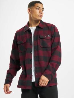 Dickies overhemd Sacramento  rood