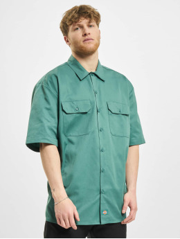 Dickies Shirt Short Sleeveork green