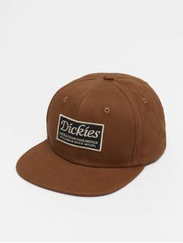 Dickies Snapback Caps Callicoon brazowy