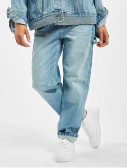 Dickies Straight fit jeans Park City blauw