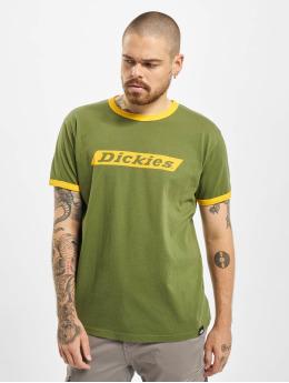 Dickies T-shirt Bakerton Regular Ringer grön