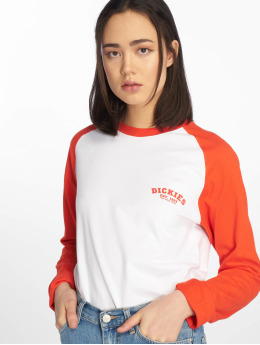 Dickies T-Shirt manches longues Baseball orange