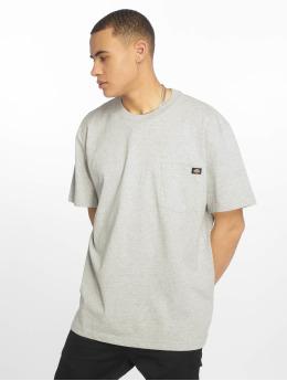Dickies T-shirts Pocket grå