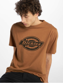 Dickies T-Shirty HS One Colour brazowy
