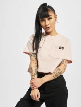 Dickies T-skjorter Ellenwood  lyserosa