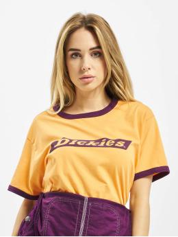 Dickies Tričká Hellier  žltá