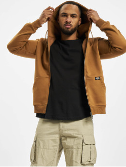 Dickies Zip Hoodie New Kingsley коричневый