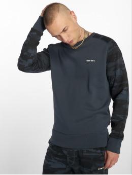 Diesel Пуловер Umlt-Casey синий