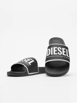 Diesel Claquettes & Sandales Valla noir