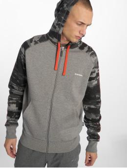 Diesel Hoodies con zip Umlt-Brianz grigio