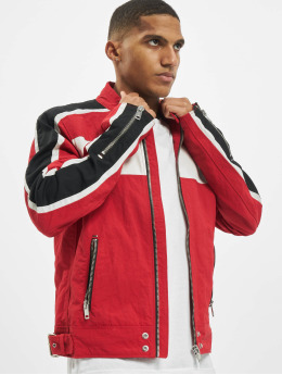 Diesel Lightweight Jacket Biker  red