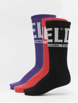 Diesel Ponožky SKM-Ray 3 Pack čern