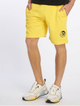 Diesel UMLB-Pan Shorts Yellow