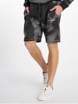 Diesel UMLB-Pan Shorts Dark Grey Melange