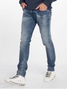 Diesel Slim Fit Jeans Thommer modrý