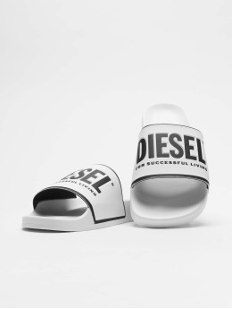 Diesel Slipper/Sandaal Valla  wit