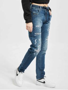 Diesel Straight fit jeans Krailey blauw