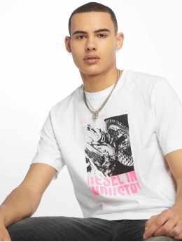 Diesel T-Shirt Just-Y3 blanc