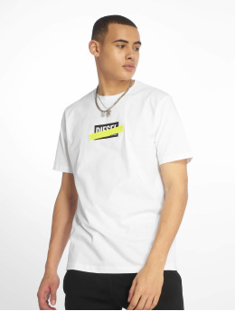 Diesel T-Shirt Just-Die blanc