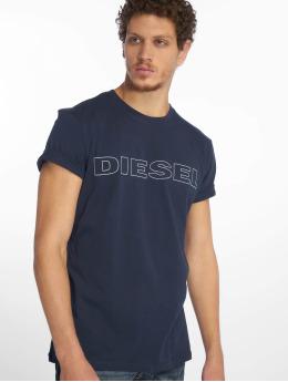 Diesel t-shirt UMLT-Jake blauw