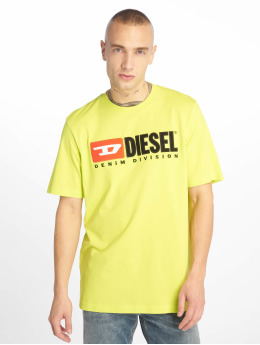 Diesel T-shirt Just-Division giallo