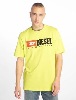 Diesel T-Shirt Just-Division jaune