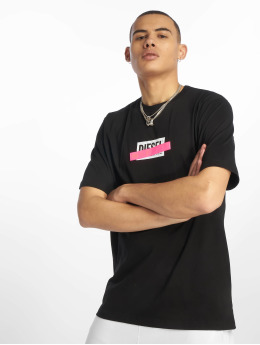 Diesel T-Shirt Just-Die noir