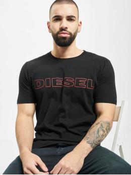Diesel t-shirt UMLT-Jake zwart