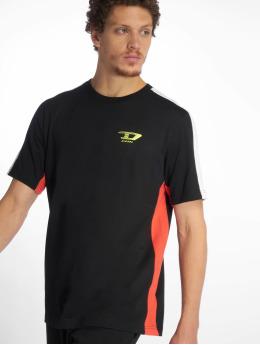 Diesel T-Shirty Harus czarny