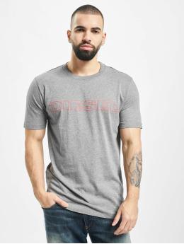 Diesel T-skjorter UMLT-Jake grå